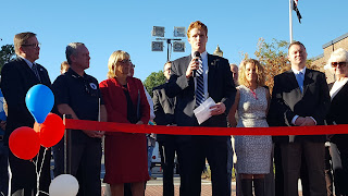Congressman Joe Kennedy represented the Federal side of the collaboration to pull the improvement plan together