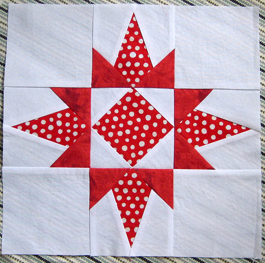 Florida Star Block Free Pattern