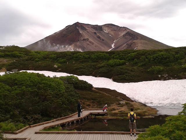 Monte Asahidake en Hokkaido