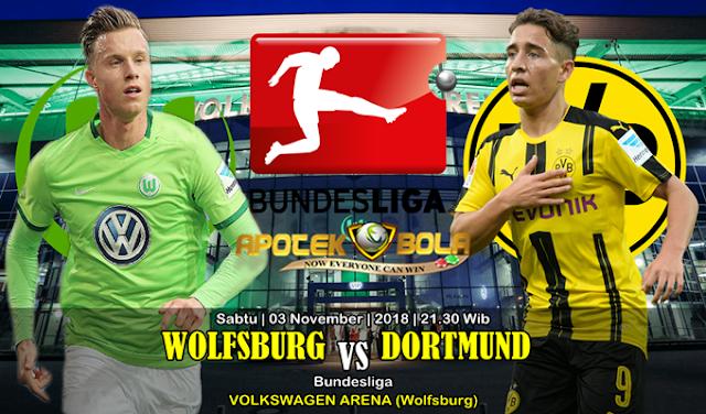 Prediksi Wolfsburg Vs Borussia Dortmund 3 November 2018