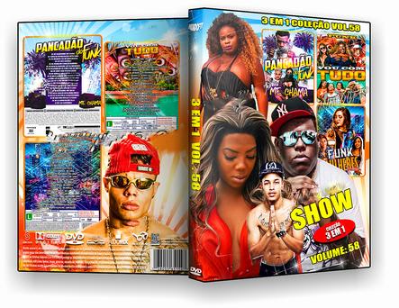 CAPA DVD – Shows 3 Em 1 Coleção Vol. 58 – ISO