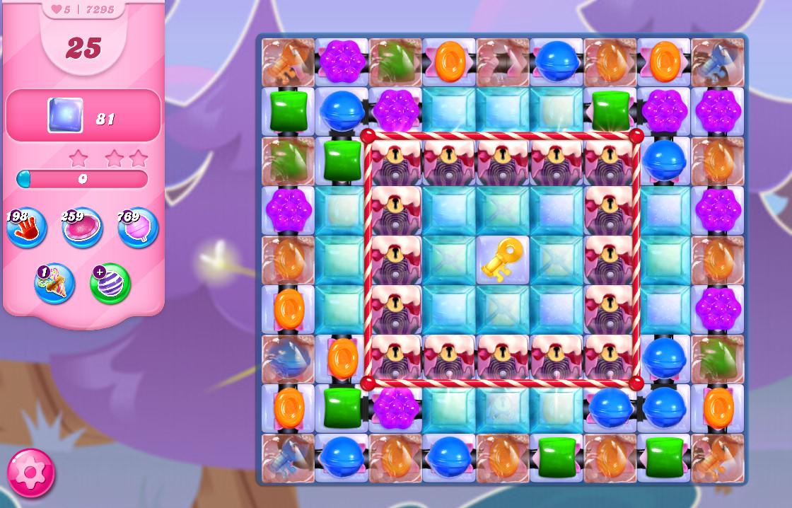 Candy Crush Saga level 7295