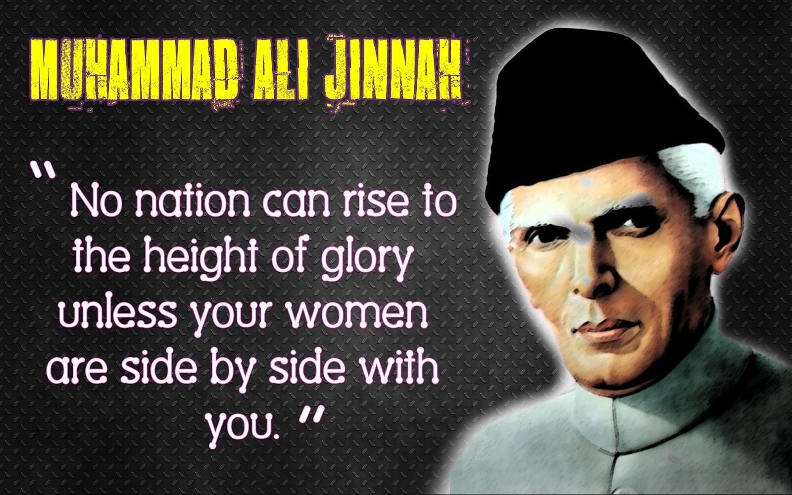 quotations of quaid e azam 1 quote have been tagged as quaid-e-azam: muhammad ali jinnah: 'islam expect every muslim to do this duty, and if we realise our responsibility time will.