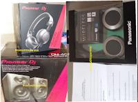 Logo Ancora premi in arrivo: Kit Cuffie + Casse stereo Pioneer e Cuffie Wireless Panasonic !
