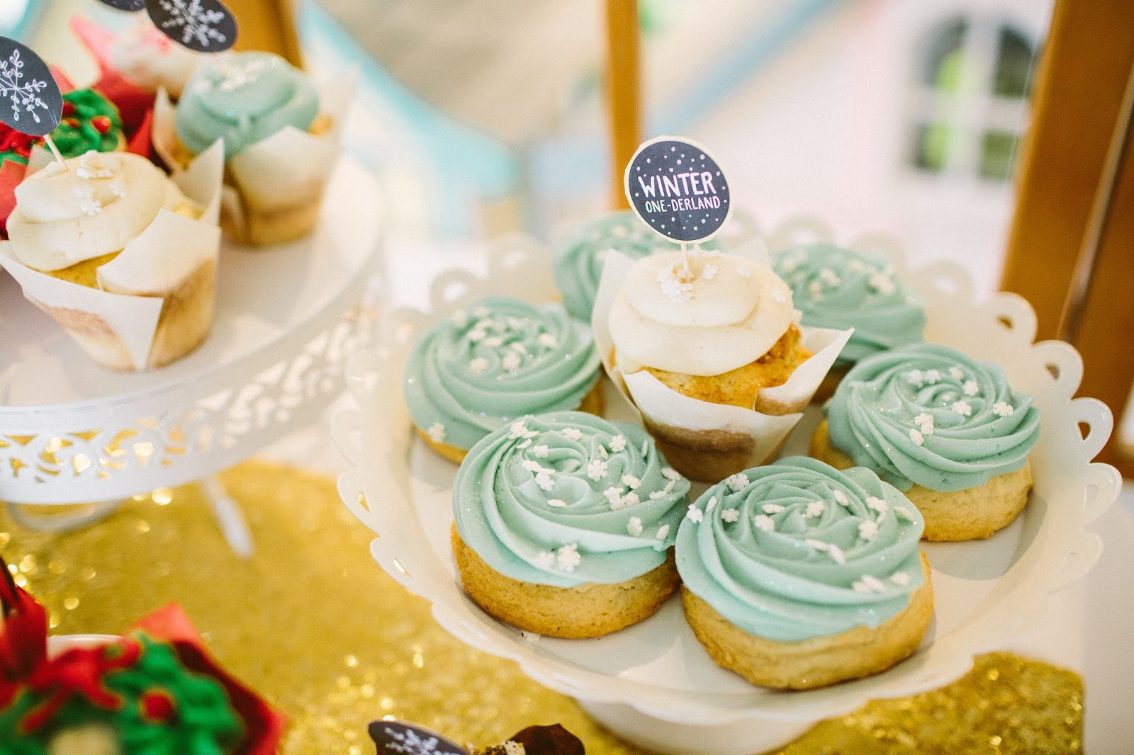Sugar Cookes, Winter Onederland Treats, Birthday Party Sugar Cookies
