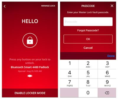 Master Lock Vault App