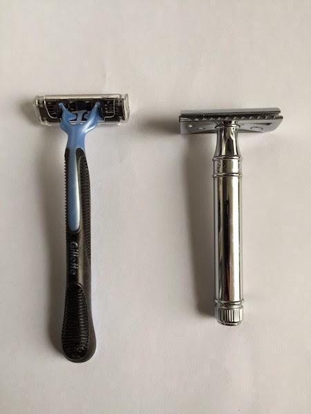 le rasoirs jetable n'est pas écologique : pour se raser écologique il faut préférer le rasoir de sécurité