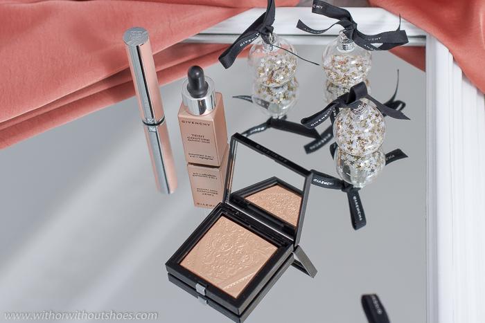 Teint Couture Shimmer Powder  02 Shimmery Gold iluminador de la coleccion Shine in Matte de Givenchy Beauty