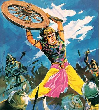 10 Senopati perang Baratayudha