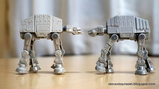 tomica takara tomy at-at first order comparison