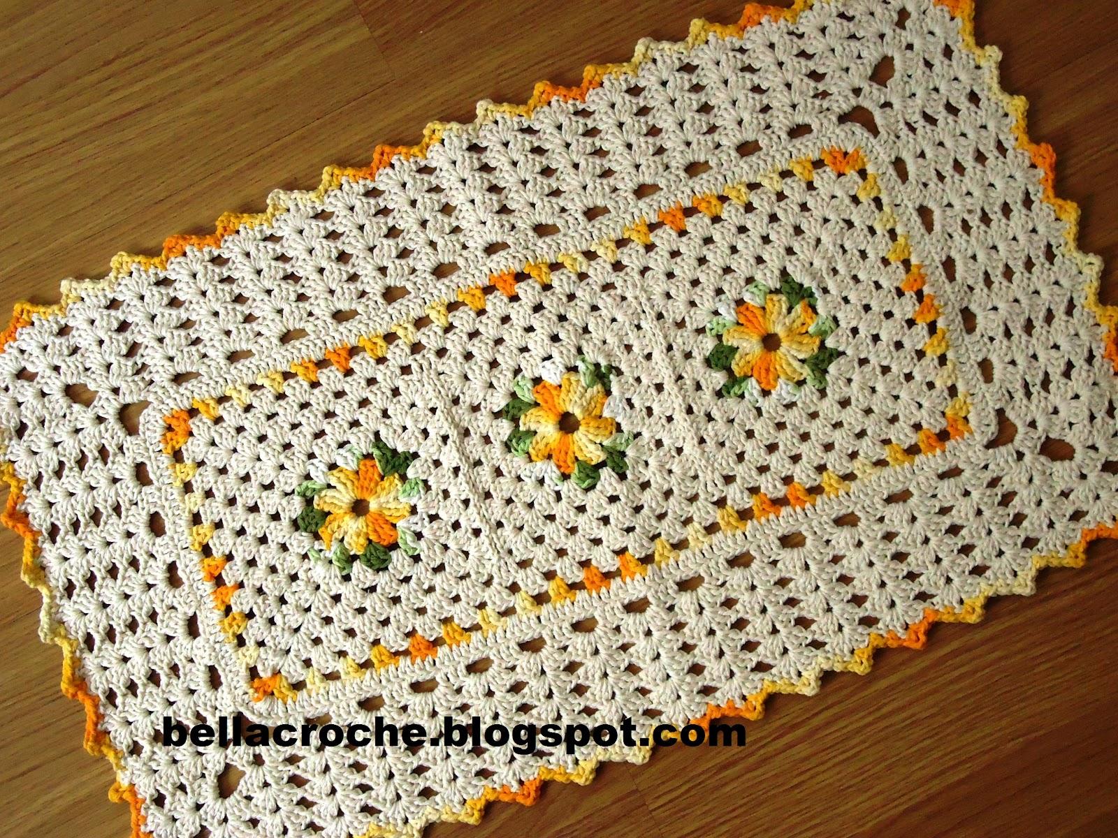 Tapetes De Barbante Para Cozinha Simples Oppenau Info -> Tapete De Croche Oval Simples Passo A Passo