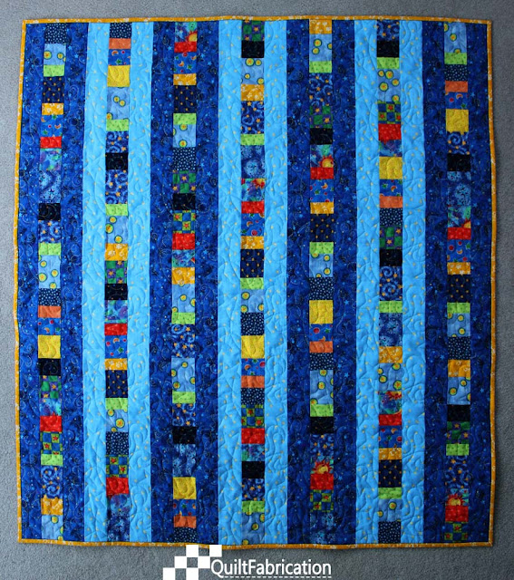 Quilt to Give from Quick Column Quilts by Nancy Zieman