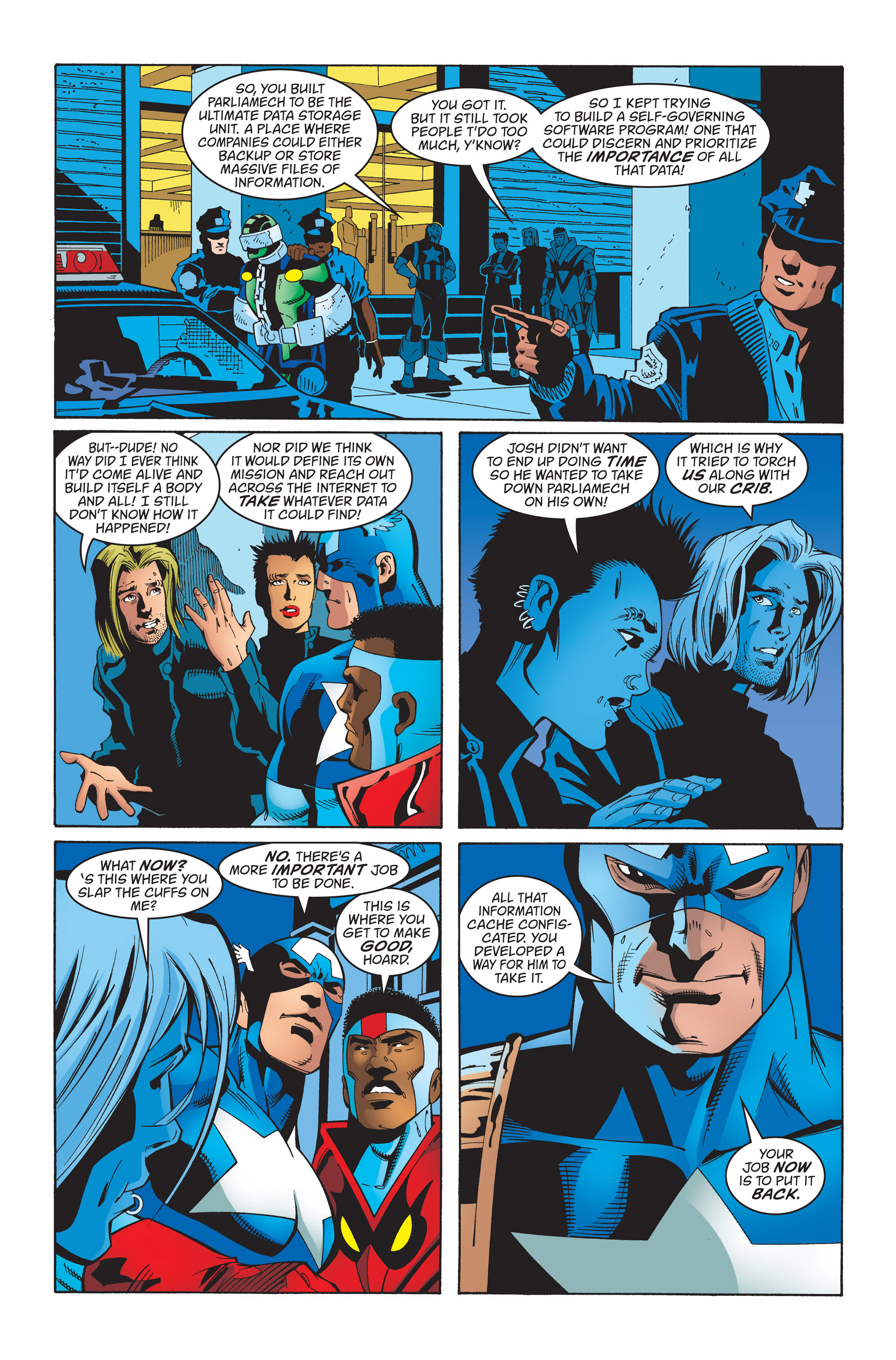Captain America (1998) Issue #34 #40 - English 21