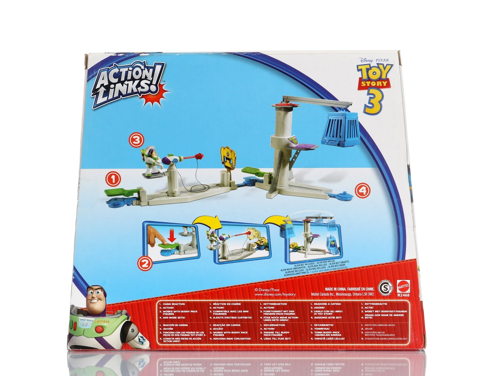 "Toy Story Space Ranger Training Center ""Action Links"" Playset"