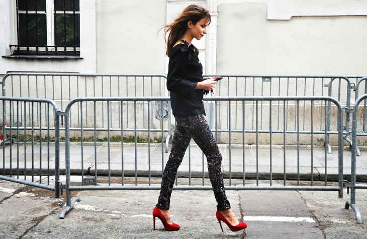 Caroline Sieber street style
