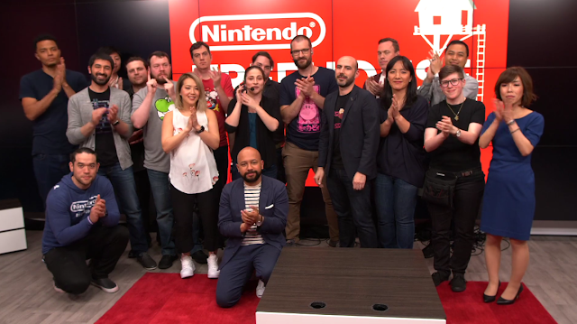 Nintendo Treehouse Live E3 2018 complete all staff photo-op good-bye last segment clapping everyone