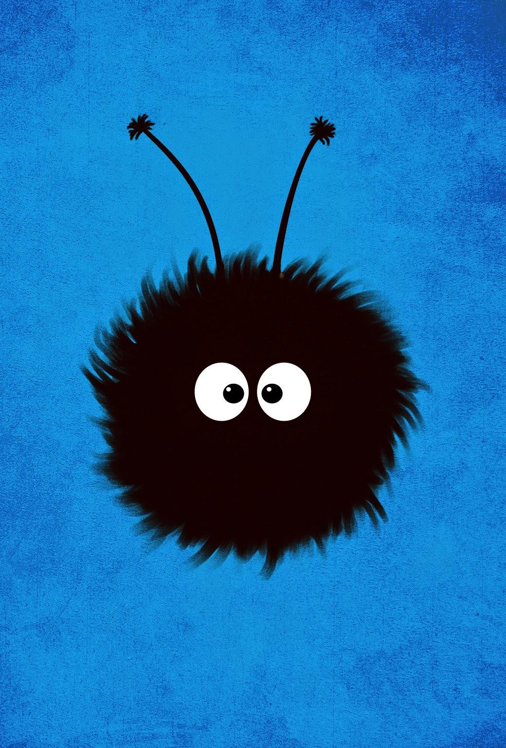 Blue Cute Dazzled Bug