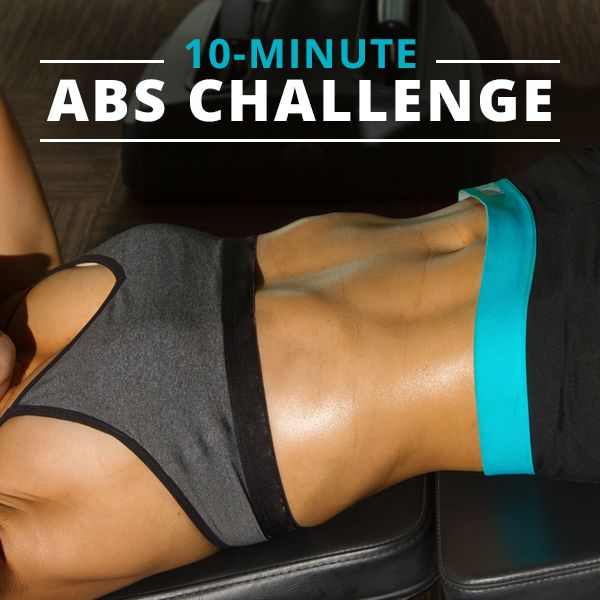 10-Minute Flat Abs Challenge