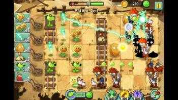 Plants vs. Zombies 2 Game Screenshot