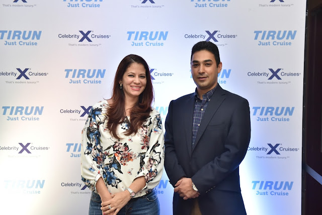 Mr. Varun Chadha with Samantha Tremayne
