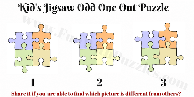Can you find different Jigsaw Picture puzzle?