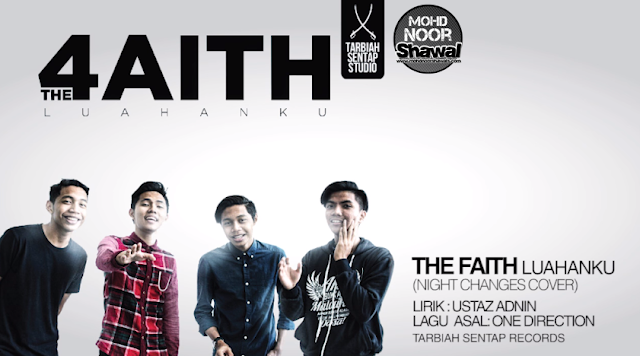 Lirik The Faith - Luahanku (Night Changes Cover)