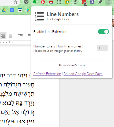 OurSchoolOnGoogle: Line Numbers for Google Docs now works