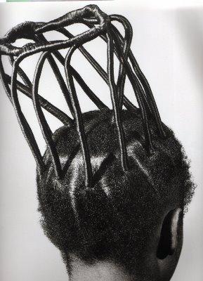 African girl hair style