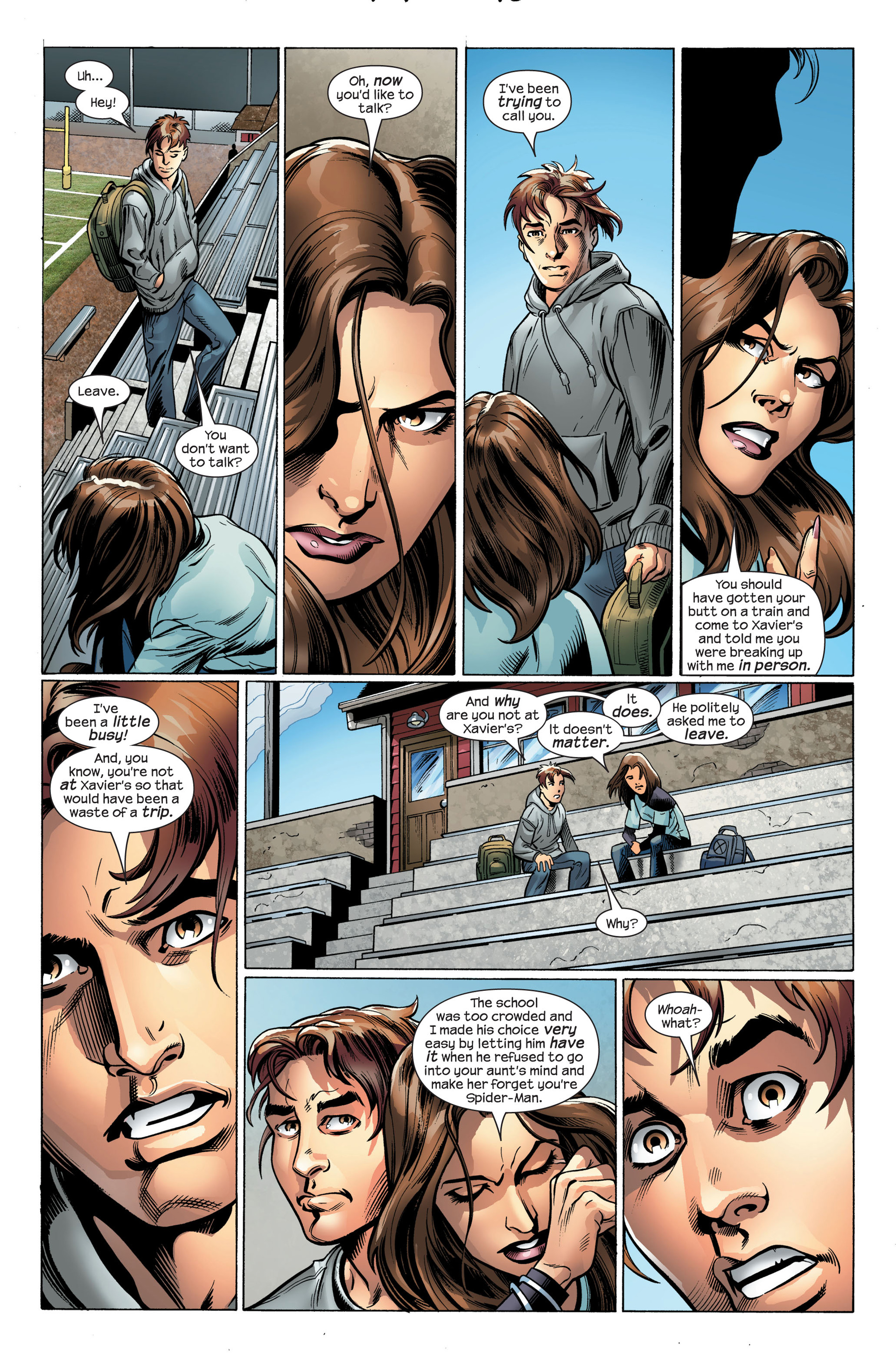 Read online Ultimate Spider-Man (2000) comic -  Issue #107 - 8