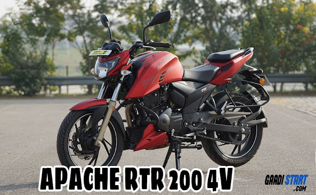 TVS Apache RTR 200 4V - Picture, Specification, Mileage, Performance,safety.