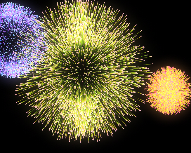 ct0007 - Create fireworks using Tracer and Sketch & Toon