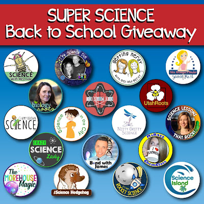 Huge Secondary Science Giveaway August 2018