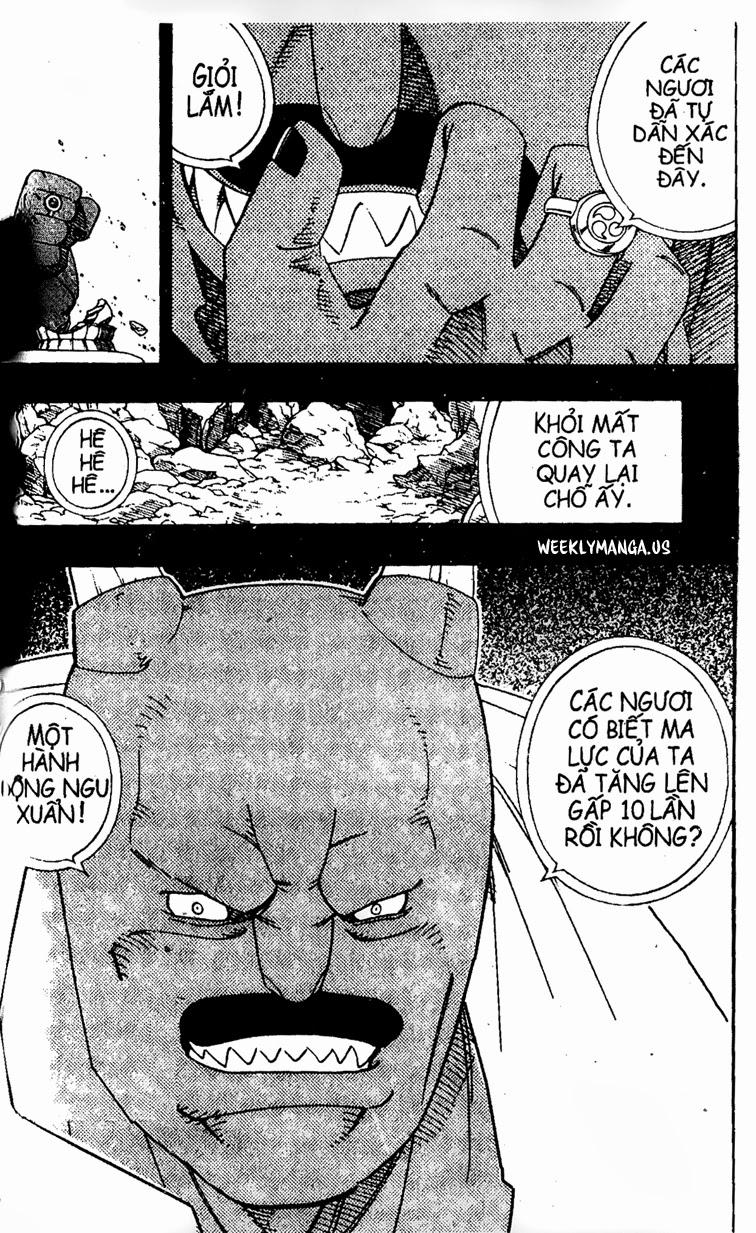 Shaman King [Vua pháp thuật] chap 174 trang 16