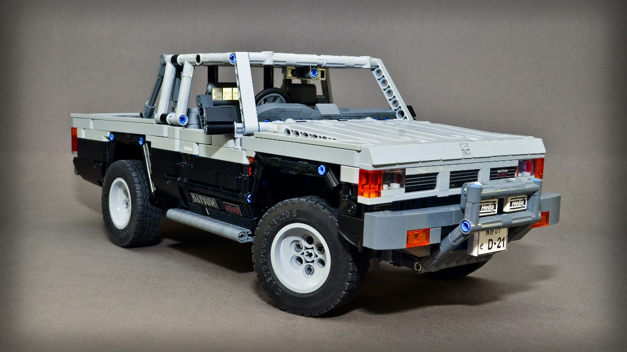 Nissan D21 4X4 photos