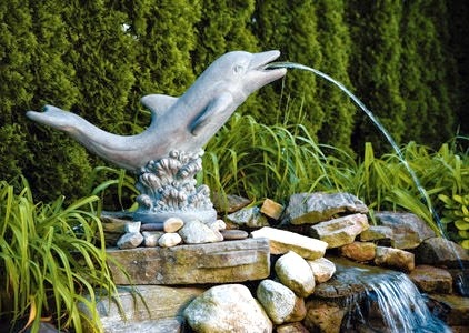 Sea and Shore Animal Garden Statues for Decor Fun Function