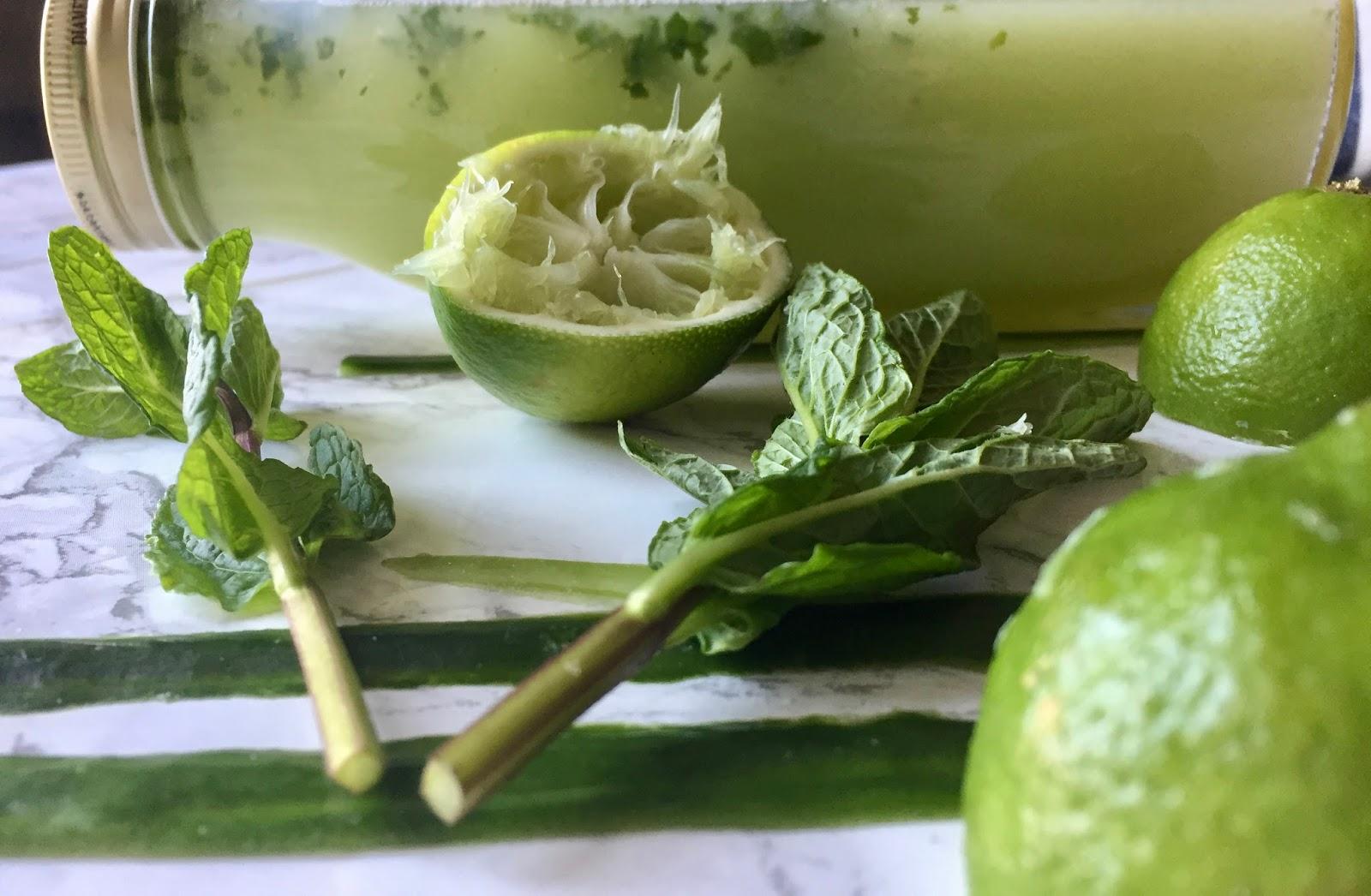 Cucumber Mojito Mocktail Recipe