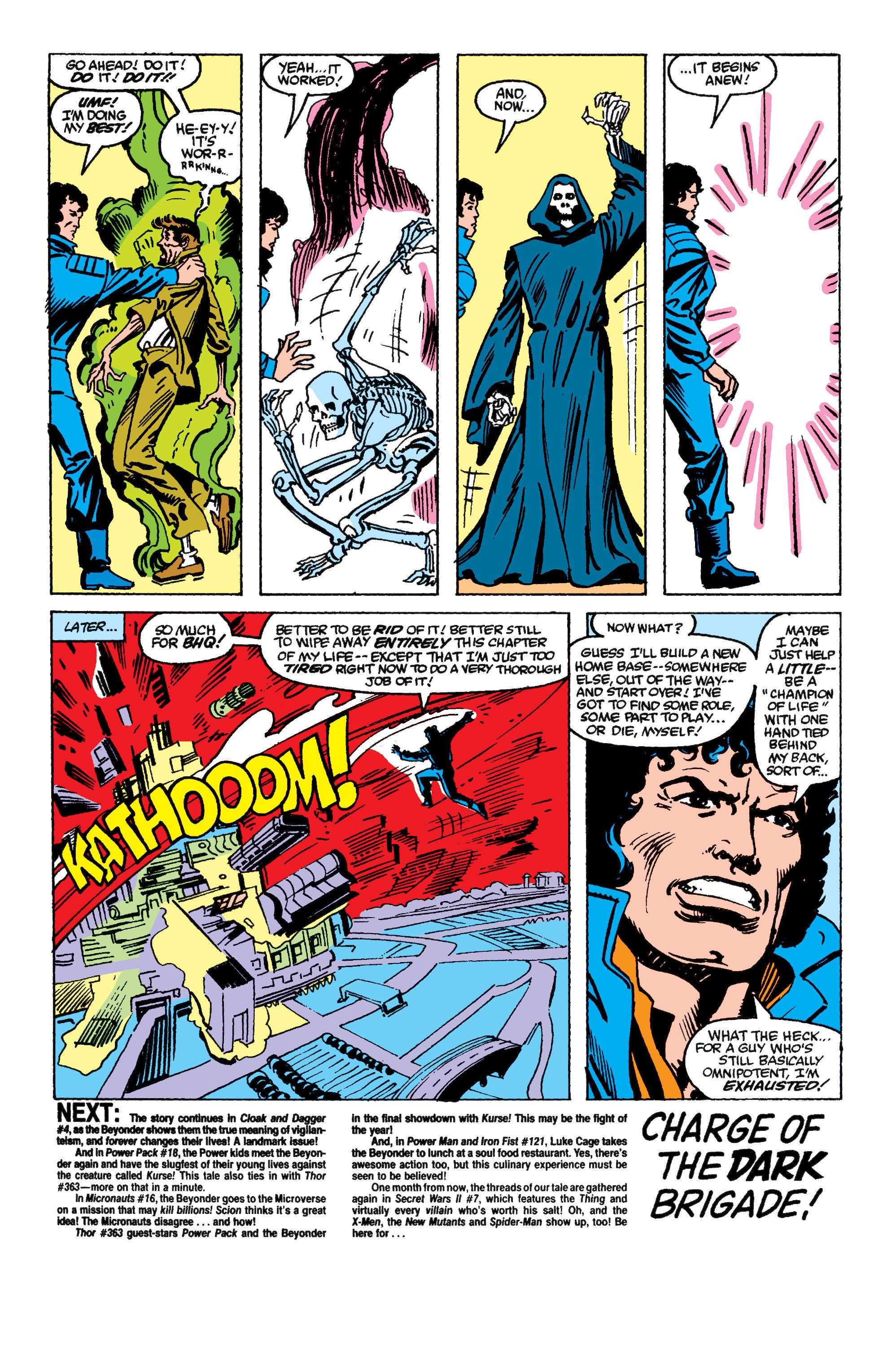 Read online Secret Wars II comic -  Issue #6 - 26