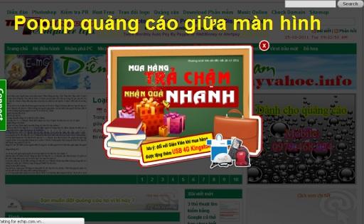 Hướng dẫn tạo Popup quảng cáo hiện giữa màn hình Website/Blogspot