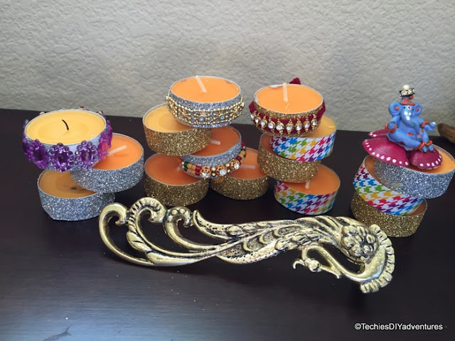 Decorating Tea Lights