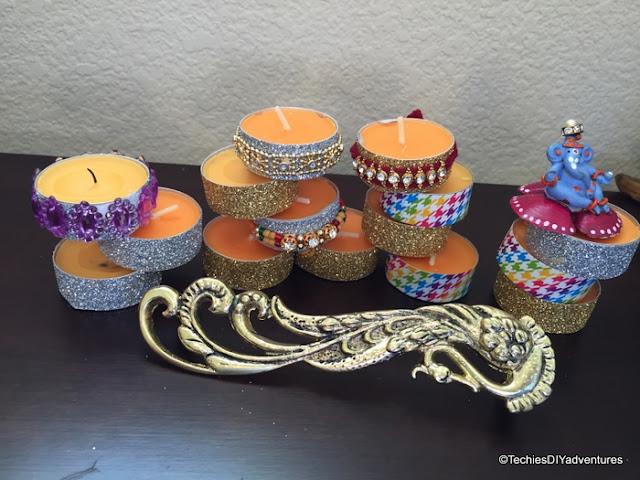 Decorating Tea Lights