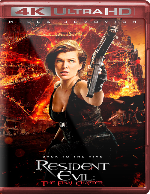 Resident Evil: The Final Chapter [2017] [UHD] [2160p] [Latino – Castellano]