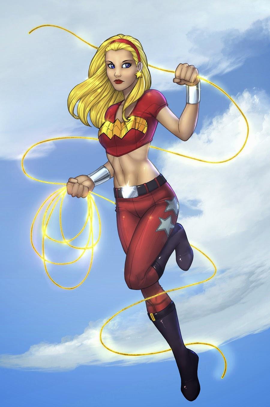 Kumpulan Gambar Wonder Girl Gambar Lucu Terbaru Cartoon Animation