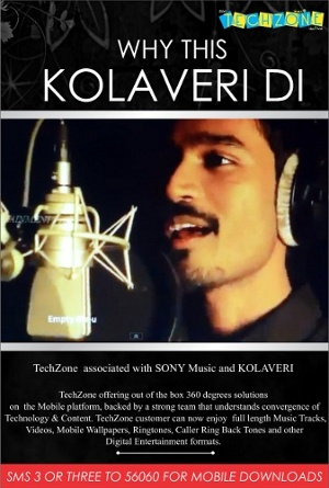 Why this kolaveri di song full video,lyrics and full download.