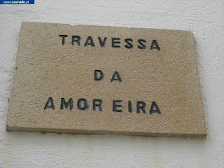 Travessa da Amoreira de Castelo de Vide, Portugal (crossing)