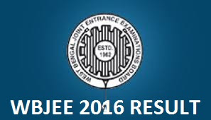WBJEE Results 2016, WBJEE 2016 Results, WBJEE Engineering Results 2016