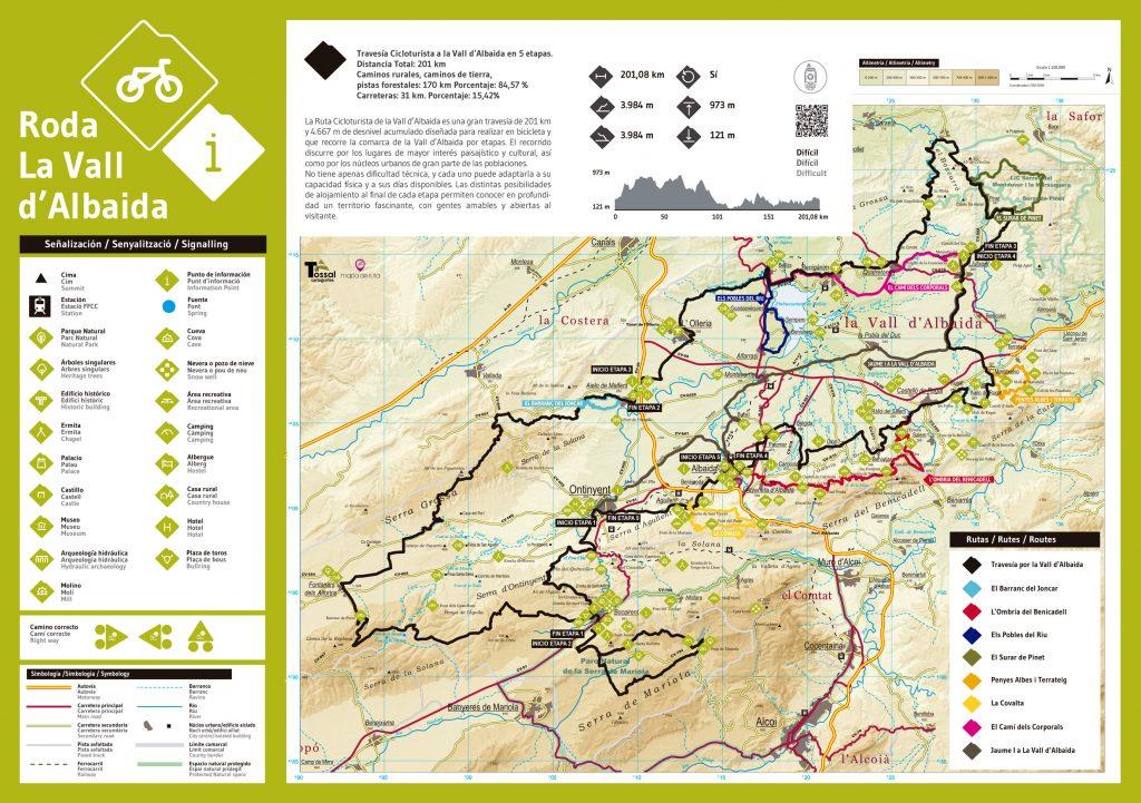 Cycling in Valencia - Roda la Vall d'Albaida