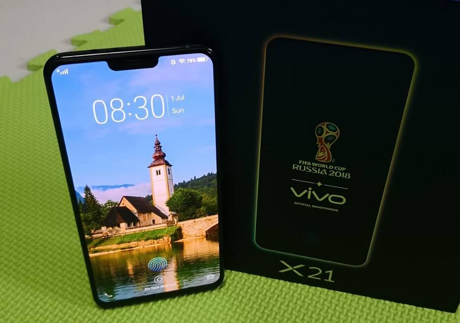 Vivo X21 Display