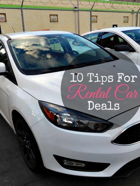 tips for rental car deals