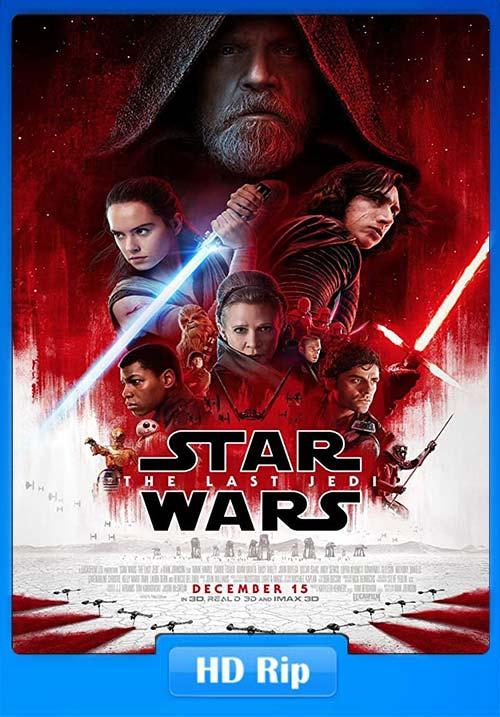 Star Wars The Last Jedi 2017 Hindi Telugu Tamil 720p BDRip ESubs x264 | 480p 300MB | 100MB HEVC