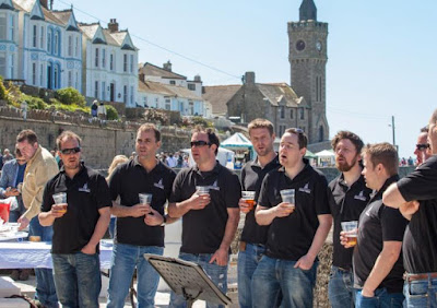Cornish singers at the Porthleven festival